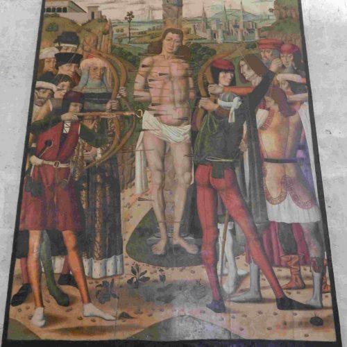 retablo-gotico-alonso-sedano-sant-sebastia-catedral-de-mallorca