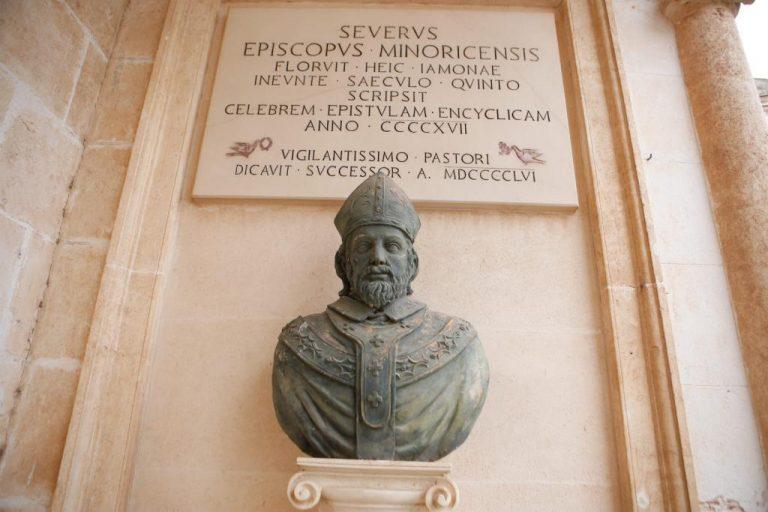 El obispo Severo de Menorca